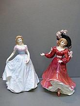Two Royal Doulton figurines, Patricia HN 3365,