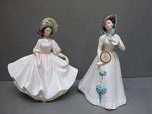 Two Royal Doulton figurines, Sunday Best HN 2698,