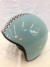 A 1960s child's crash helmet.