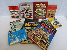 A selection of model car reference books etc.