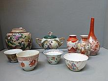 An assortment of 19th Century and later Oriental