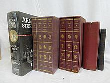 A selection of volumes including two box sets of