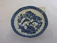 A late 18th/early 19th Century pearlware blue and