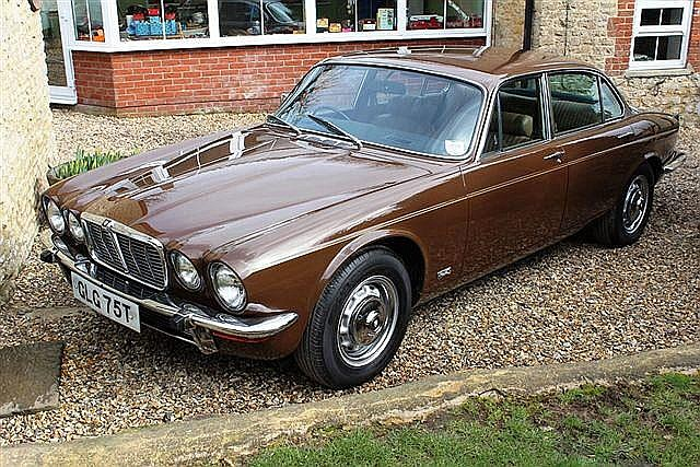 1978 Jaguar XJ6 4.2. Finished in Carriage Brown