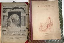 *****WITHDRAWN***** MISCELLANY - A collection of 12 works including Charles Holme's Modern Etchings Mezzotints and Dry-Points (London: The Studio Ltd., 1903), The Studio ... Volume Two (London: Offices of the Studio, 1894). With a collection of other works of related inter. *****WITHDRAWN.