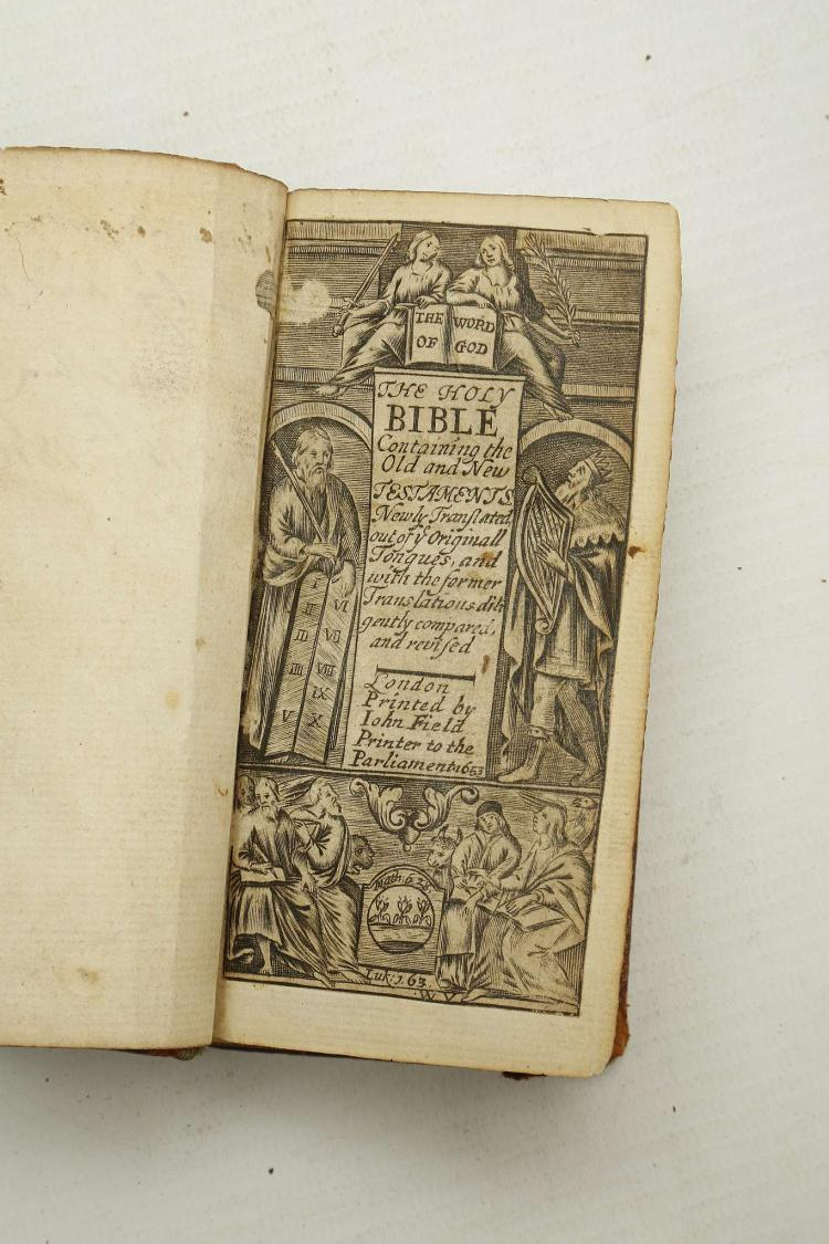 BIBLE In English The Holy Bible Containing The Old And Ne