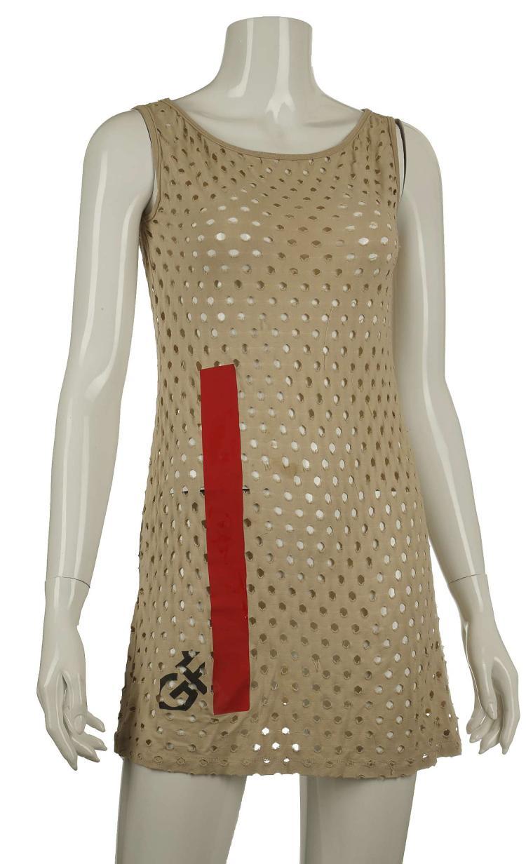 Sonia Rykiel sequin 'football jersey' dress, size S, togethe