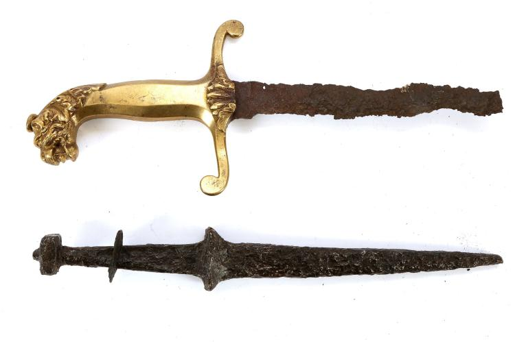Early 19th century pre-regulation British Army band sword