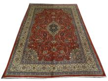 A Persian Sarouk carpet, Central Iran, 3.86m x 2.65m, condition rating A.
