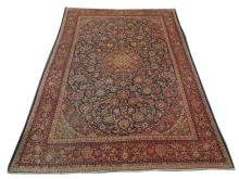A 1920's Persian Keshan carpet, Central Iran, 3.70m x 2.65m, condition rating A/B.