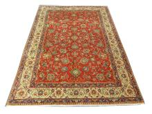 A fine Persian Sarouk carpet, Central Iran, 3.60m x 2.50m, condition rating A.
