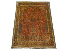 An early to mid 20th Century fine Kashkouli rug, South West Iran, 1.50m x 1.08m, condition rating A.