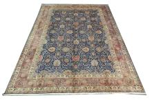 A fine Keshan meshed carpet, North East Iran, 3.83m x 3.00m, condition rating A.