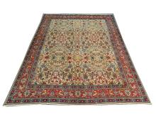 A Persian Tabriz carpet, North West Iran, 3.83m x 3.00m, condition rating A.