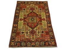 A Persian Nahavand rug, West Iran, 2.00m x 1.44m, condition rating A.