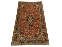 A Persian Keshan rug, Central Iran, 2.24m x 1.30m, condition rating A.
