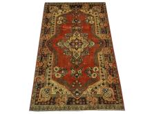 A Persian Sarouk Mahal rug, Central Iran, 2.06m x 1.23m, condition rating A.