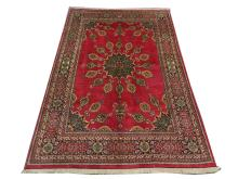 A signed Persian meshed carpet, North East Iran, 2.97m x 2.00m, condition rating A.