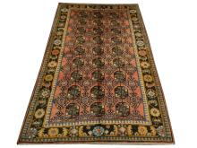 A Persian Bokhara carpet, North East Iran, 3.05m x 1.97m, condition rating A.