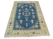 An early to mid 20th Century Chinese Art Deco carpet, 2.80m x 2.03m, condition rating C.
