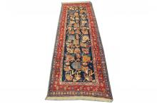 An early to mid 20th Century Persian Bidjar runner, West Iran, 3.80m x 1.34m, condition rating A.