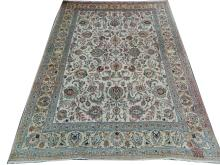 A mid 20th Century Persian Tabriz carpet, North West Iran, 4.00m x 3.00m, condition rating B/C.