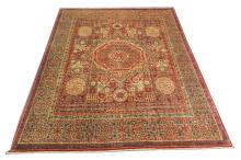 Afghan Mamluk design carpet, 3.05m x 2.49m, condition rating A.