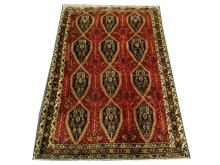 A Persian Afshar rug, South Iran, 2.05m x 1.35m, condition rating A.