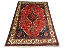 A Persian Afshar carpet, South West Iran, 2.97m x 2.10m, condition rating A