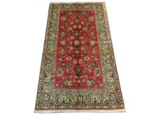 A Persian Keshan rug, Central Iran, 2.54m x 1.40m, condition rating A