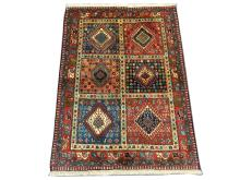 A Persian Yalameh rug, West Iran, 1.48m x 1.05m, condition rating A