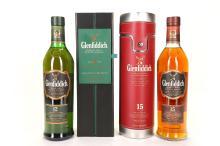 A Glenfiddich unique Solera 15 year old Single Malt Scotch Whisky, Speyside, 70cl (40% ABV).