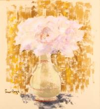 PAUL MAZE (FRENCH 1887-1979)  Still life, Roses in a Vase  Signed lower left  Pastel on buff paper  37 x 34.5cm (14.5 x 13.5in)