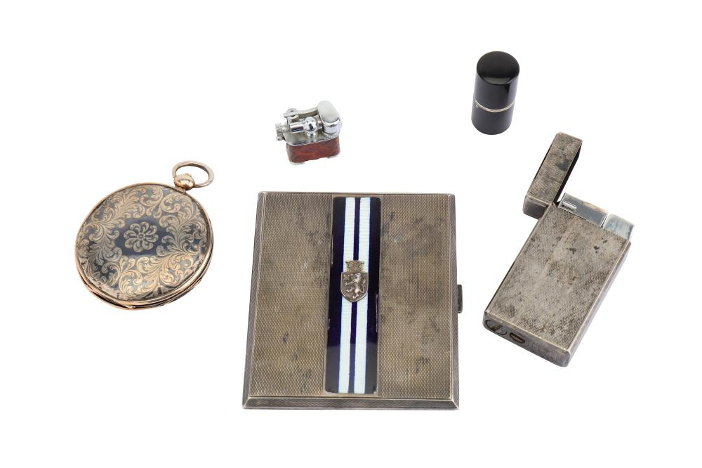 A group of items