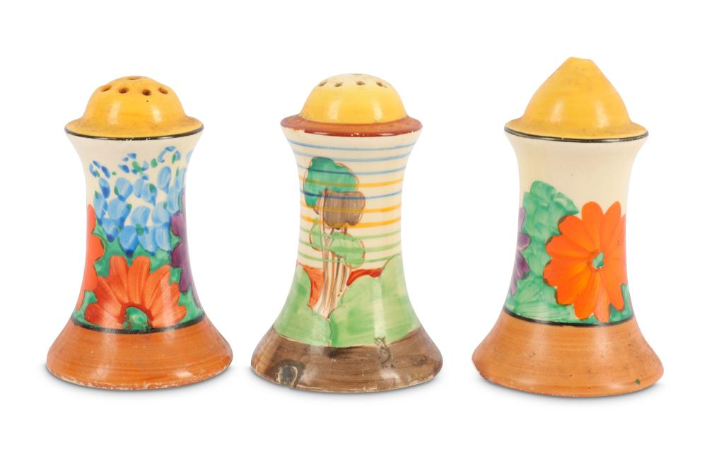 Clarice Cliff - Gay Day- a salt and pepper pot