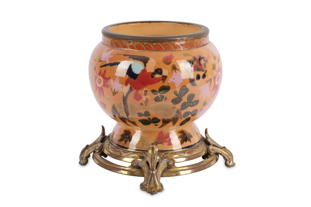 A.late 19th Century French Sevres Chateau Des Tuileries jardiniere,