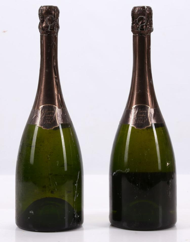 Dating champagne bottles