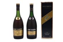 A 1970's REMY MARTIN FINE CHAMPAGNE V.S.O.P. COGNAC,  fill level approximately 8cm below cork, 0.7 litre bottle, (40% ABV).  And a 1980's REMY MARTIN FINE CHAMPAGNE V.S.O.P. COGNAC,  fill level approximately 7cm below cork, original card box, 70cl, (40% ABV),(2).