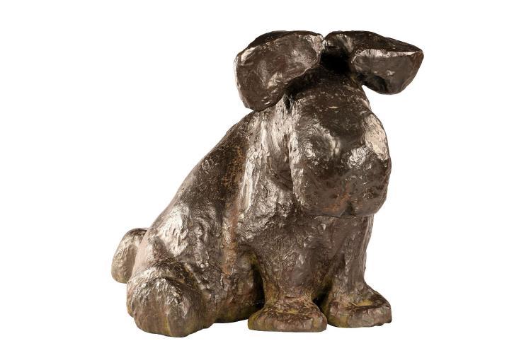 TOM CLAASSEN, Untitled (Moose), 1999. Bronze. 45cm x 46cm x 76cm.(SUBJECT TO ARTIST'S RESALE RIGHTS).