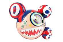 TAKASHI MURAKAMI (JAPANESE b.1962) 'Mr. DOB', 2016, painted resin, from an edition of 750, stamped under, with original presentation box, (24cm high)