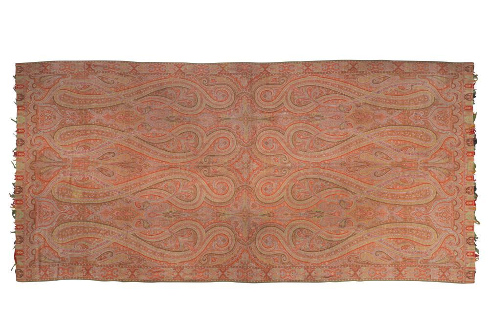 A KASHMIRI-STYLE PAISLEY SHAWL Possibly Scotland, 19th century