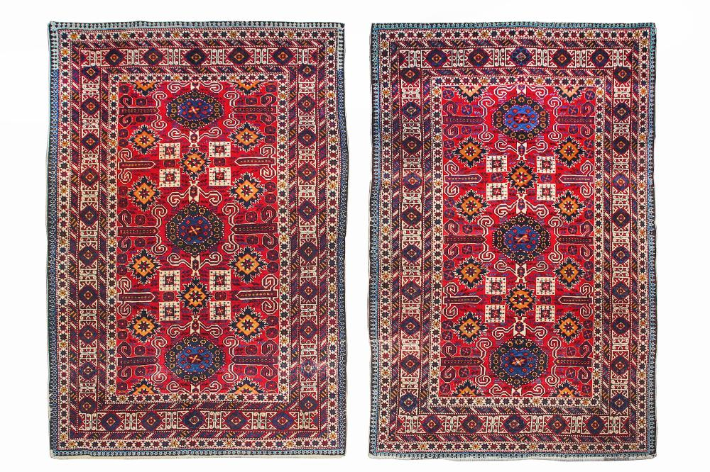 A PAIR OF PEREPEDIL RUGS, EAST CAUCASUS
