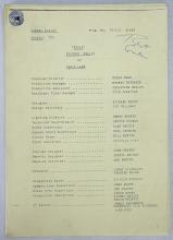 CAMERA SCRIPTS - A collection of original camera scripts including Bread - Episode Twelve, Terry and June (Series 9),