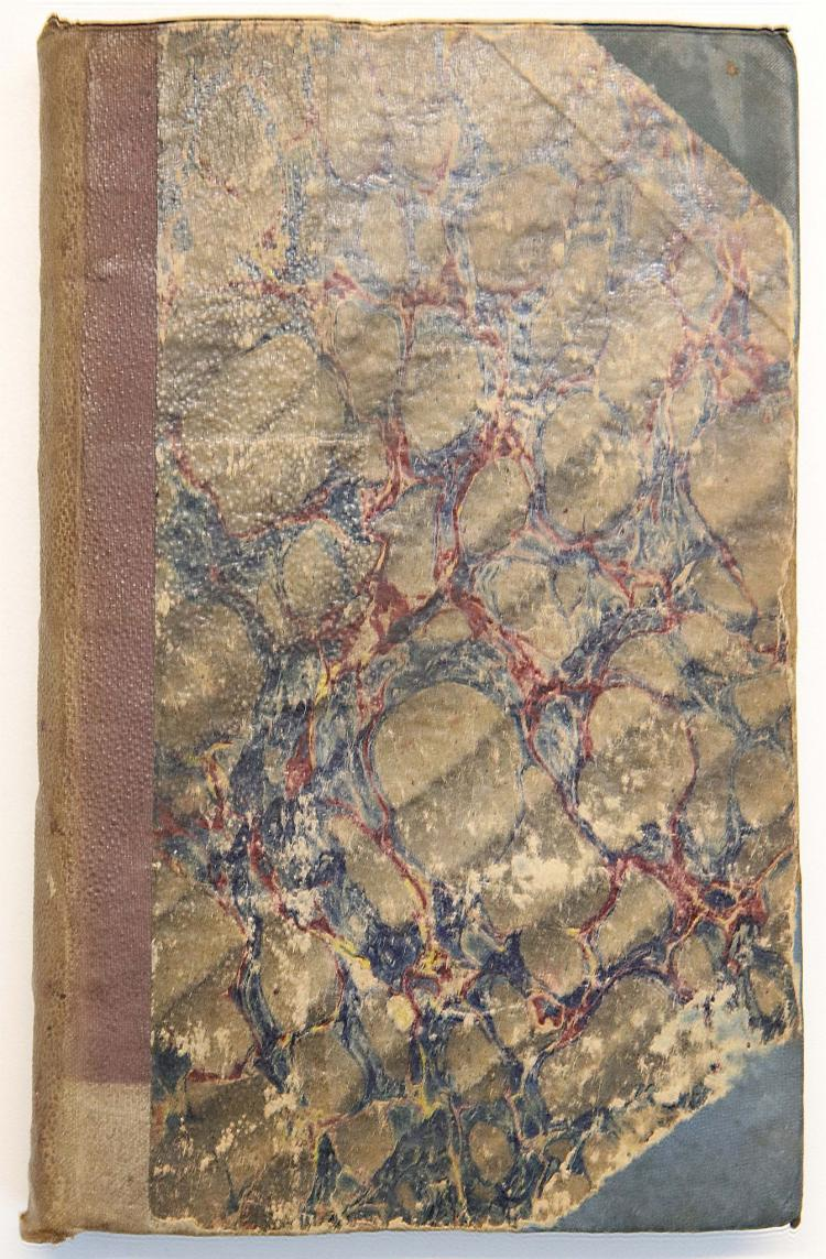 HANDLEY, James. Colloquia Chyrurgica: or, the Whole Art of Surgery Epitomiz'd and Made Easie, According to Modern Practice. London: A. Bettesworth, 1721. 8vo. (Title page lightly soiled, re-adhered with blue cloth tape, light browning and staining). Later half pebbled cloth (new endpapers, worn).