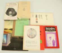 SURREALIST MISCELLANY - A collection of books mainly on surrealism. (qty)