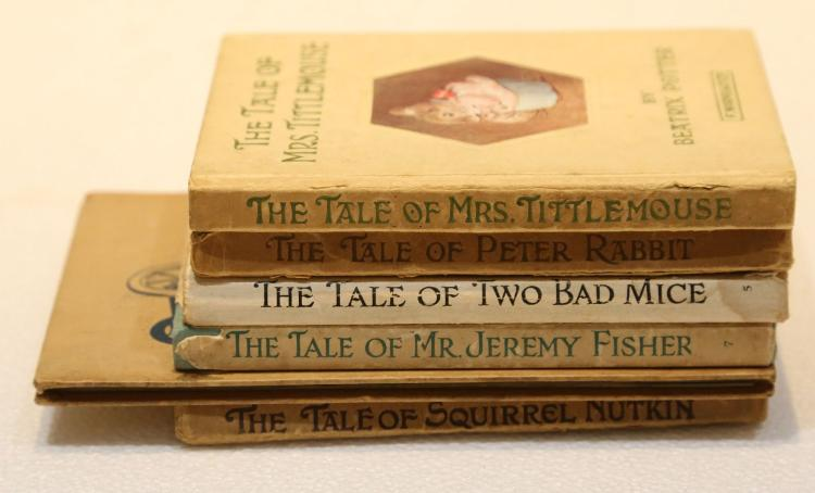 A Collection of 20th-century children's and illustrated books including Haldane Macfall's The Splendid Wayfaring ... Decorated by Lovat Fraser, Gaudier-Brzeska, the Author and Gordon Craig (London, 1913), Mago Cif's La storia di Pik Badaluk (Trieste, [c. 1930], worn), Carruthers Gould's Wild Nature in Pictures, Rhymes and Reasons (New York, [c. 1900]), Diana Ross's The Story of the Little Red Engine (London, [c. 1945], illustrations by Leslie Wood), and other titles in the same