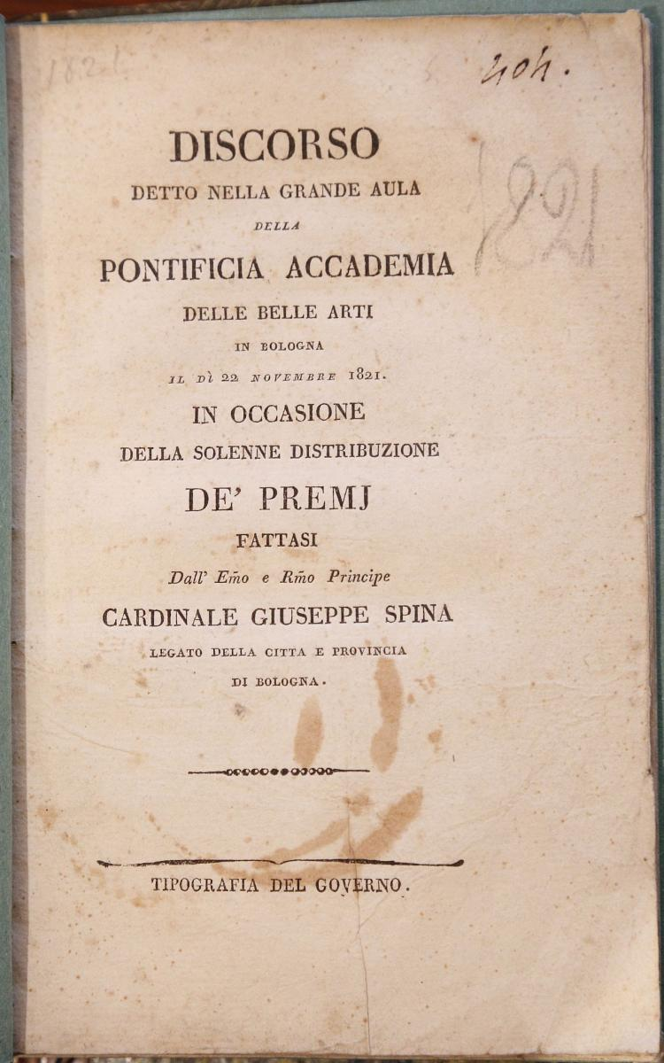 MAI, Angelo (1782-1854). M. Acci Plauti. Fragmenta Inedita item Ad P. Terentium Commentationes et Picturae Ineditae.