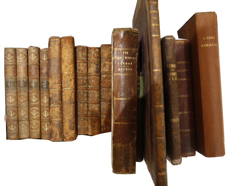 18TH AND 19TH-CENTURY LITERARY MISCELLANY - A quantity of works. Sold not subject to return. (qty)