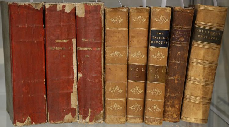 POLITICS AND ECONOMICS - a small collection of 18th- and early 19th-century works. The lot sold not subject to return. (11)