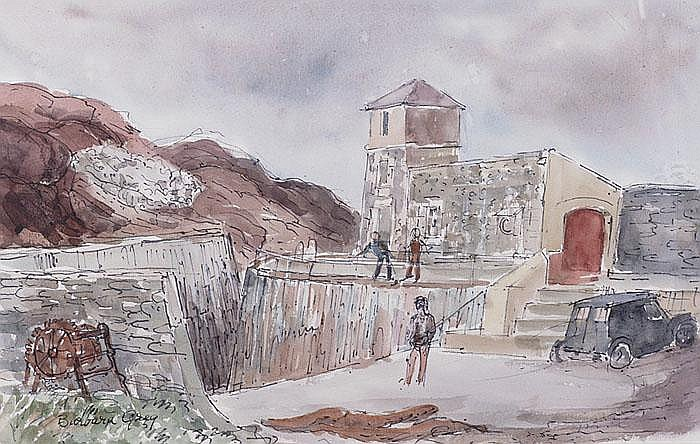 Barbara Greg (1900-1983), Watercolour,